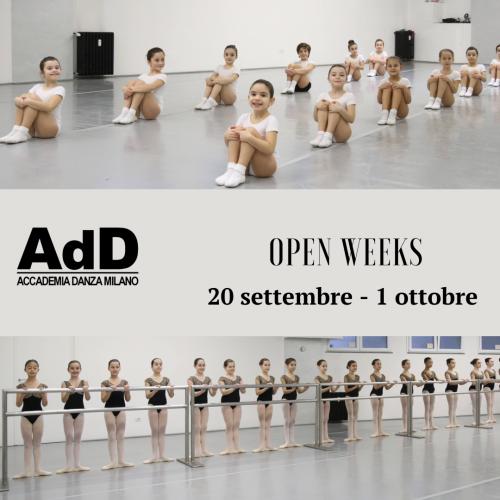 open weeks